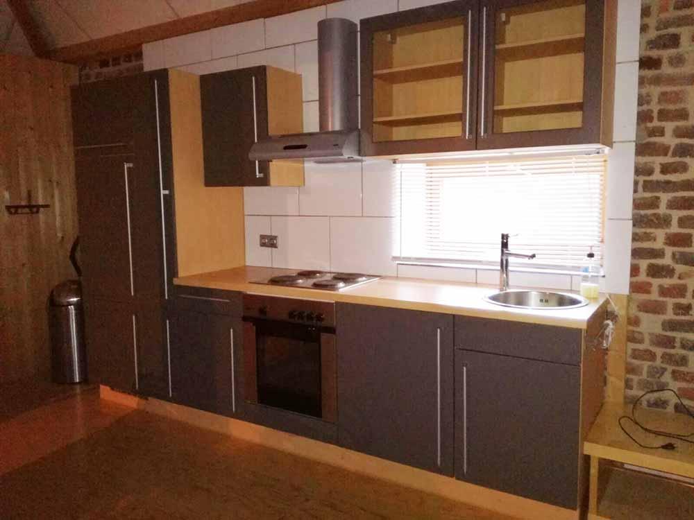 keuken zolderappartement